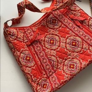 Vera Bradley large shoulder bag